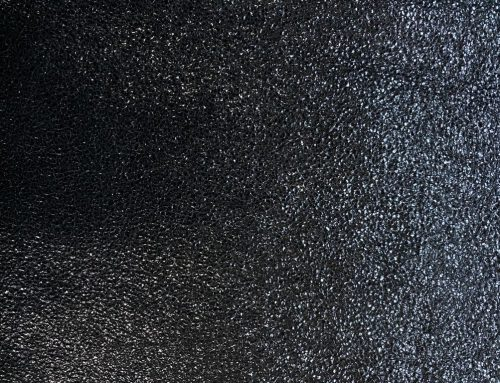 Capra cracked negru