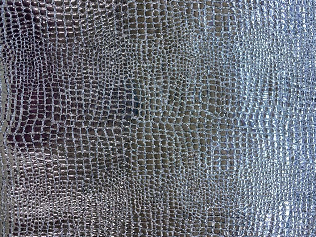 capra croco silver