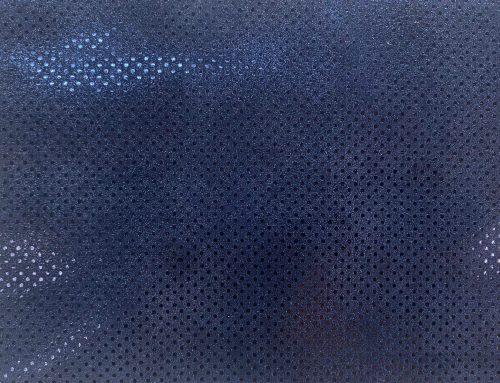 Capra polka dots bleumarin